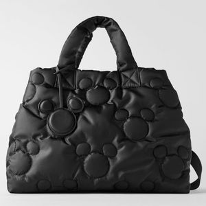 Zara Disney Mickey Mouse quilted shopper